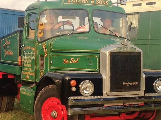 Dorset Heavy Horse Farm Park - Sir Ted - 1967 Scammell Highwayman